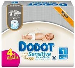 Pack Regala Dodot - Toallitas y pañales Dodot Primeros Tres Meses: Amazon.es: Salud y cuidado personal