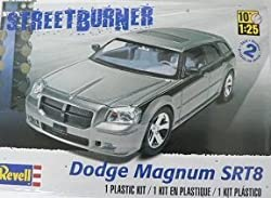 Revell Dodge Magnum SRT8 Plastic Model Kit by Revell