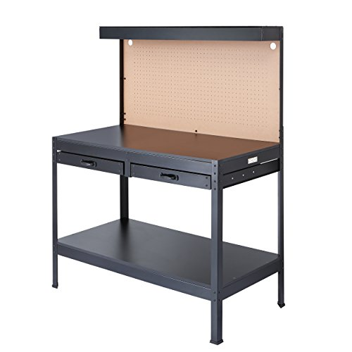 Olympia Tools 82-802 Multi-Purpose Workbench With Light (Cabinets & Garage Work Bench)