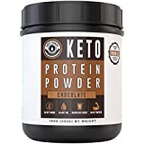 Schokolade Keto Protein Powder New & Improved Formula | Low Carb, High Fat Protein Powder Ketogenic Diet - Coffee, Smoothies, Shakes | MCT Powder, Grass-Fed Collagen 25 Servings Left Coast Performance
