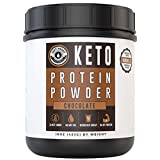 Chocolate Keto Protein Powder 25 Servings New Formula | Low Carb, High Fat Protein Powder Ketogenic Diet – Coffee, Smoothies, Shakes | MCT Powder, Grass-Fed Collagen Left Coast Performance Review