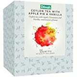 Dilmah Vivid Apple Pie with Vanilla Loose Leaf Refill Box, 125 Grams