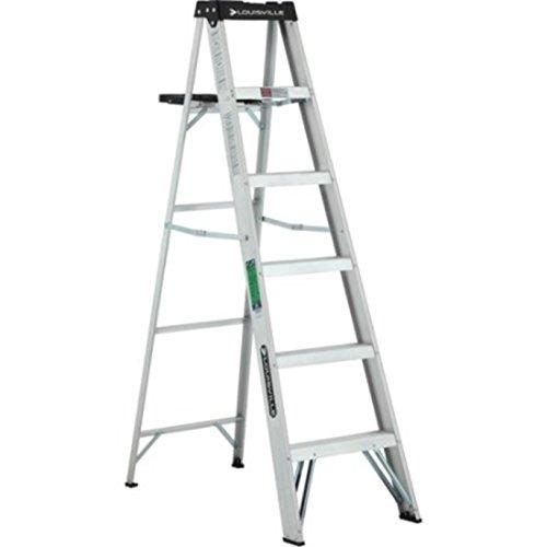 Aluminum Lightweight Molded Plastic Top Ladder by Louisville Ladder (Image #2)