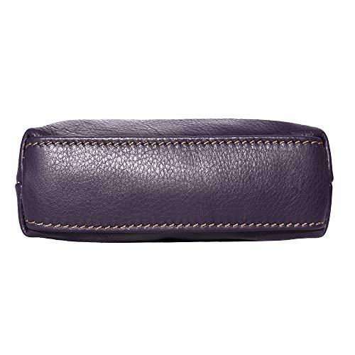 cuir à 8609 Sac en cuir Violet Leather unisexe bandoulière Market Florence 8xwftAqv