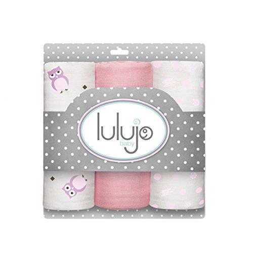 lulujo Muslin Minis Pretty Pink