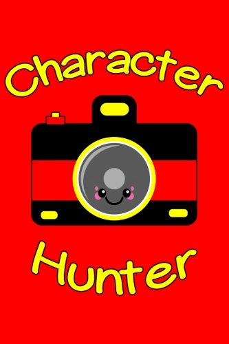 Character Hunter Blank Paperback Autograph Book
