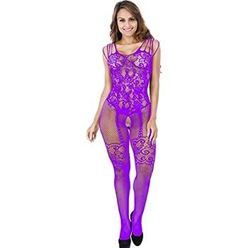 ba0ceaefc9462 Angelform Andrea Purple Women s Lingerie Cotton Bra. 1970. 1800s. Sumen  Sexy One Piece Bodysuit Lingerie Women Underwear Hot Sale Nightwear (Purple)