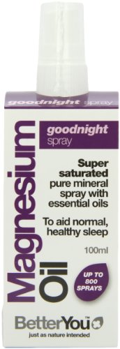 BetterYou Magnesium Oil Goodnight Spray, 100ML Bottle