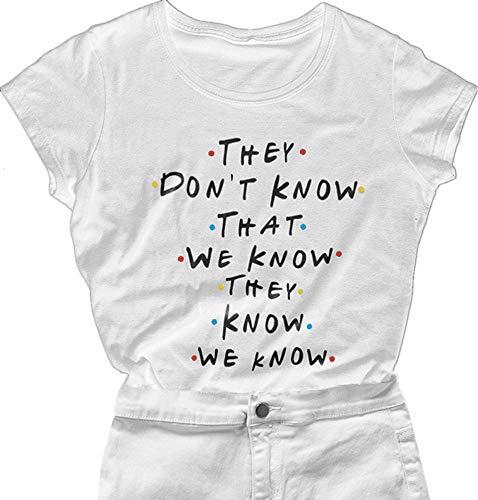 Womens Teen Girls Friends TV Show T Shirt Casual Cute Funny Graphic Tees