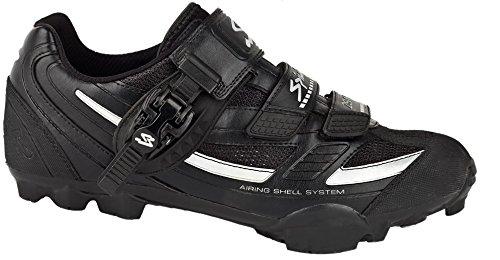 Zapatillas MTB Zs 11 SPIUK Negra Plata: Amazon.es: Zapatos y complementos