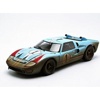 1966 ford gt 40 mk 2 gulf blue dirty version 1 118