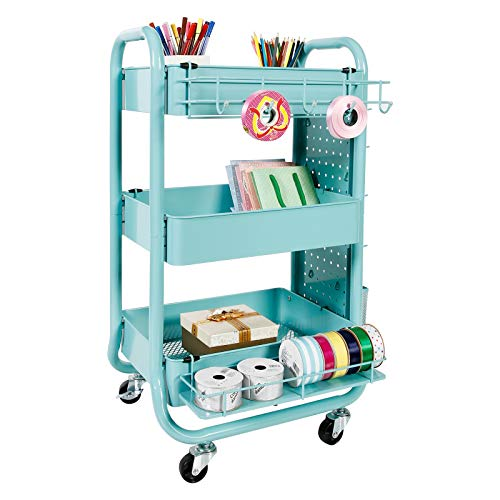 Gramercy Cart by Recollections, Teal by Recollections (Image #3)