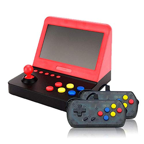 Volwco Mini Arcade Game Machines with 2 Gamepad - 1000 Classic Game Retro Video Game Player with 7 Inch Eye-Protected Colorful Screen&USB Rechargeable Battery - Home Travel Portable Gaming System (Best Arcade Games For Android 2019)