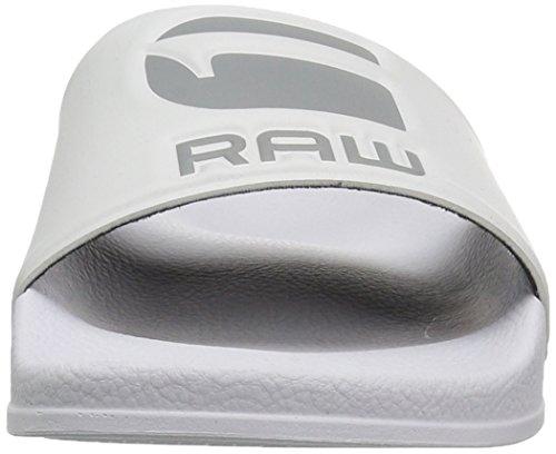 RAW Sandalias STAR Blanco G Blanco 110 carrito para abiertas con Blanco hombres 0Rq0r