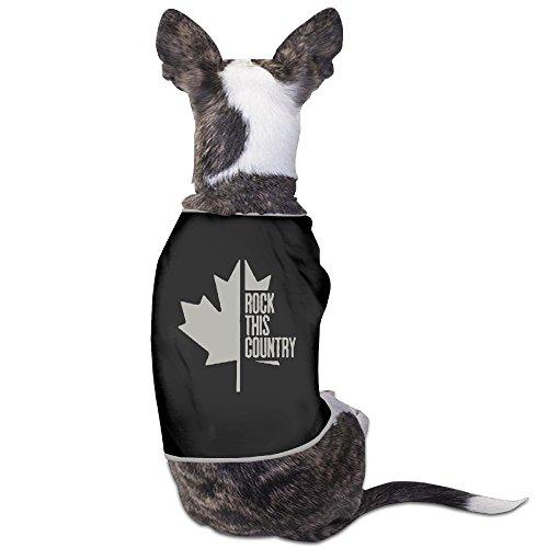 - Funny Shania Twain Flag Type Pet Dog T Shirt.