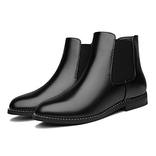 KHSKX-Chelsea Boots Boots And Single Shoes Ladies Shoes All-Match Shoes Women'S Casual Tide Forty DLiNBnz