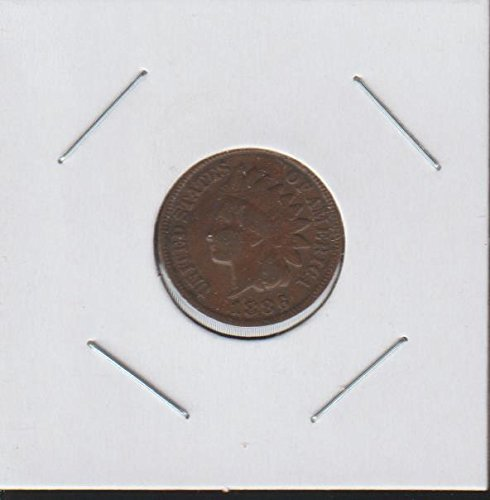 1886 Indian Head (1859-1909) Penny Choice Fine Details