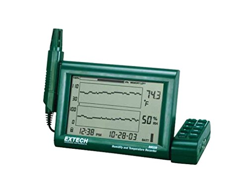 Extech RH520A-NIST Humidity and Temperature Chart Recorder with RS-232 Computer Interface and NIST