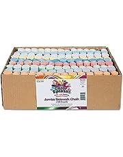 S&S Worldwide Color Splash! Giant Box of Sidewalk Chalk(Box of 126)