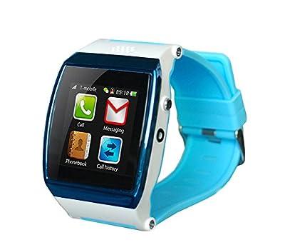 Bluetooth GSM Smart Watch Phone MP3 MP4 Touch Screen Camera Smartwatch(Blue)