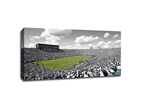 Notre Dame - College Football - 40x22 Gallery Wrapped Canvas Wall Art ToC