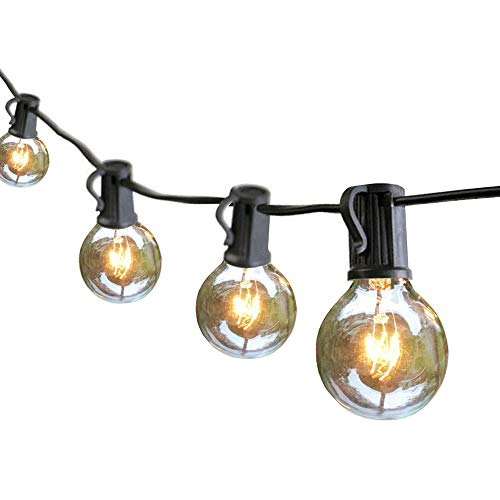 Edison Outdoor String Lights, Armondii Waterproof Connectable Retro Decorative Festival Bulb (25 Bulbs 25 FT) by Armondii
