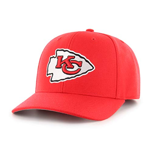 OTS NFL Kansas City Chiefs Male All-Star Dp Adjustable Hat, Torch Red, One Size