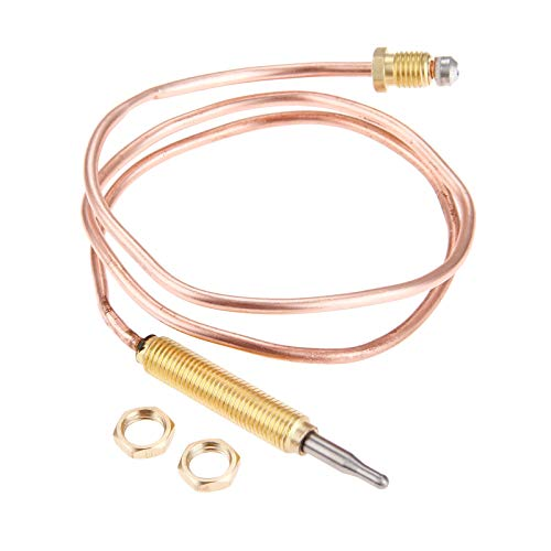 Aupoko Universal Gas Thermocouple, 600 mm Length, M8x1 End Nut and on