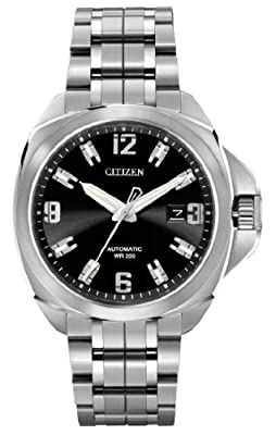 "Citizen Men's NB0070-57E ""Grand Touring"" Signature Automatic Movement Sapphire Crystal Dress Watch"