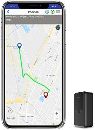 Localizador GPS para Coche Tiempo Real Mini GPS Tracker,Rastreador GPS Pequeño de Seguimiento Paquete Anti-perdido para Totalizador Infantil Lost Find Aplicaciones Gratuitas para iOS y Android: Amazon.es: Electrónica