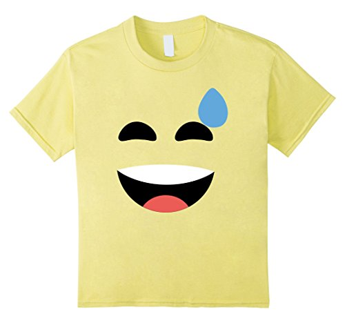 Childs Sweet Smile Emoji T-Shirt