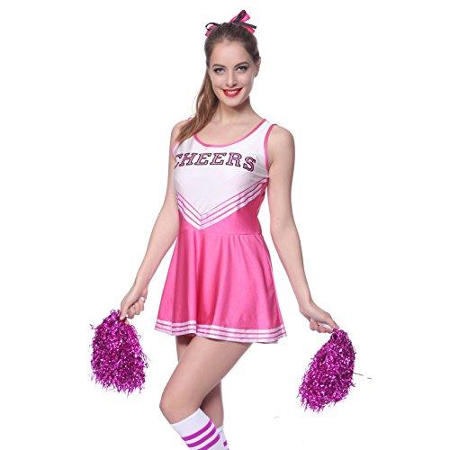 Ladies Sexy Varsity High School Cheer Girl Cheerleading U...