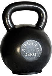 Apollo 44 kg Premium Kettlebell With Rubber Pad
