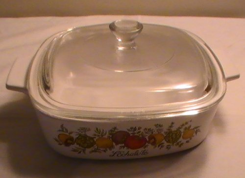 Corning Spice of Life 1 Qt. Casserole with Lid
