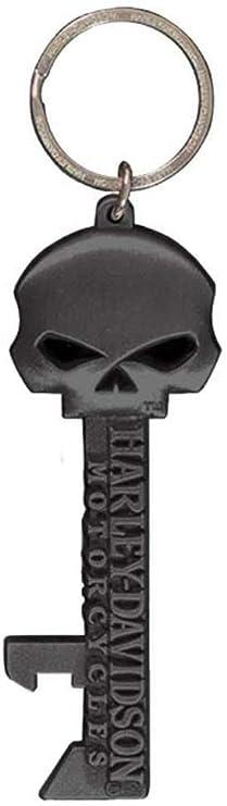 Harley-Davidson Willie G Skull Skeleton Key Bottle Opener Key Chain KY12406