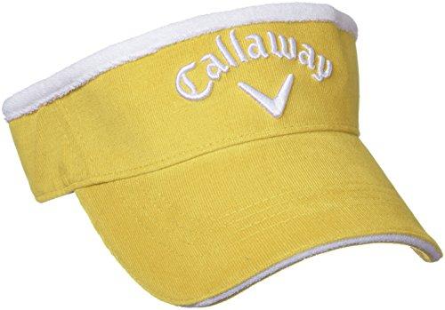 (キャロウェイ アパレル) Callaway Apparel 定番 コーデュロイ バイザー (サイズ調整可能) 帽子 ゴルフ / 247-7290902 [ レディース ]
