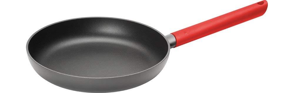 Woll 520JCR Just Cook sartén de Hierro Fundido para inducción, diámetro 20 cm, 5 cm de Alto Resistente Mango Rojo: Woll: Amazon.es: Hogar