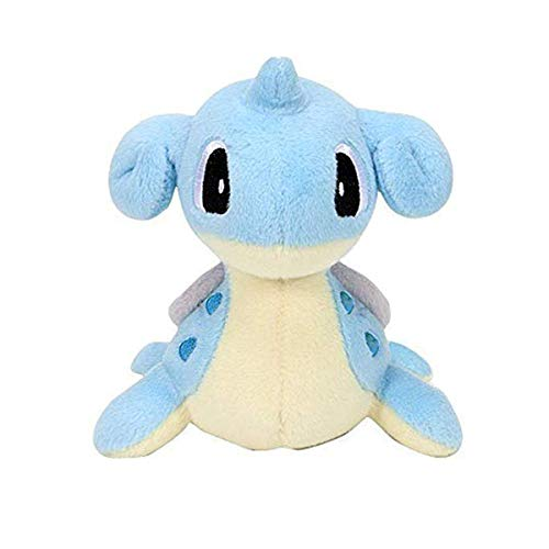 (Orlesp Lapras Plush Doll Figure Stuffed Toy Center Poke Doll Cartoons Baby Toys)