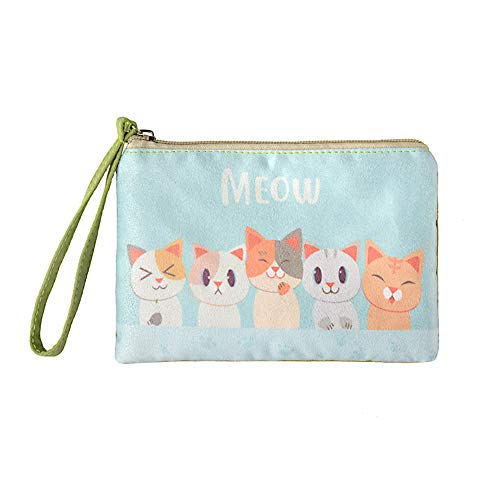 Rantanto Cute Canvas Cash Coin Purse, Make
