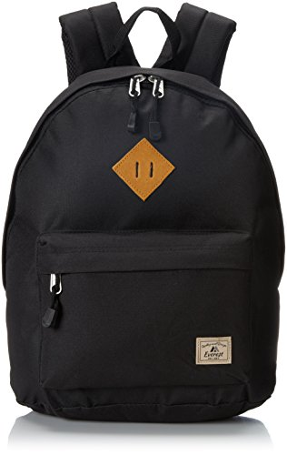 Everest Vintage Backpack, Black, One Size ()