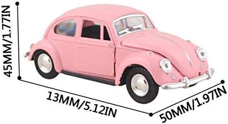 Tivollyff カーバームレトロクラシックカーモデルオーナメントカブトムシカーオーナメントクリエイティブインテリアカー用品