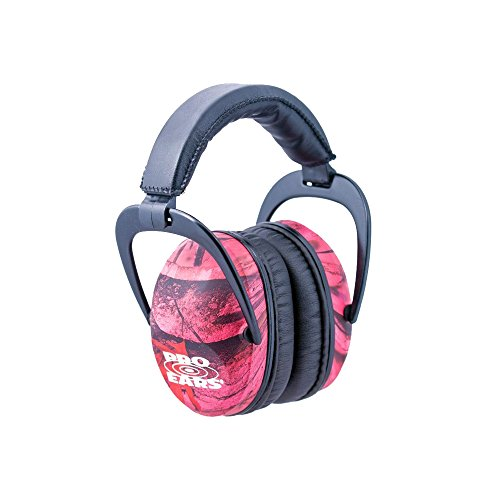 ek - Hearing Protection - NRR 26 - Ear Muffs - Pink Camo ()