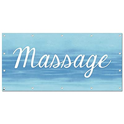 Graphics and More Massage - Retail Store Business Sign Banner