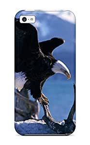 LJF phone case For DPatrick Iphone Protective Case, High Quality For iphone 6 4.7 inch Wings Extended Bald Eagles Skin Case Cover