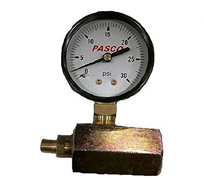 Pasco 1427 30-Pound Gas Test Gauge Assembly