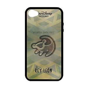 iPhone 4 Case, [lion king] iPhone 4,4s Case Custom Durable Case Cover for iPhone4s TPU case (Laser Technology)