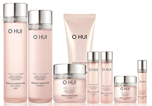 Ohui Miracle Moisture Special Limited Gift Set Total 8 pcs, 2016 New Version