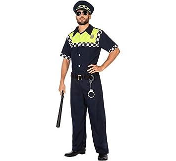 Atosa-54748 Disfraz Policía, Color Azul Marino, XL (54748): Amazon ...