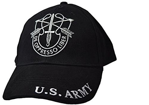 - US Army Special Forces SF DE Oppresso LIBER Embroidered Hat Green Beret Premium Quality Dad Hat For Men Women