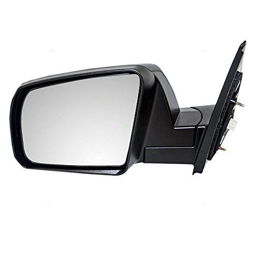 Drivers Power Side View Mirror Heated Textured Replacement for Toyota Pickup Truck SUV 87940-0C181 AutoAndArt